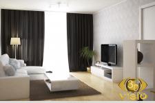 3D-визуализация гостинной, заказать